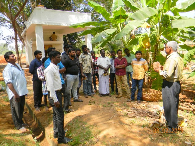 Coconut Tree climber training to Rural youth - photo - 157